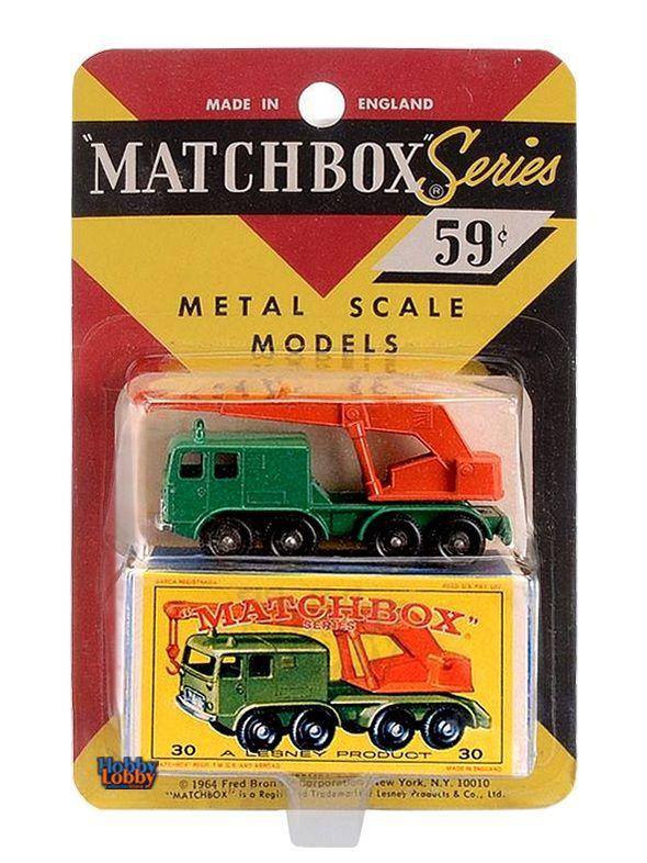 Matchbox - Coleção 1965 - 8 Wheel Crane