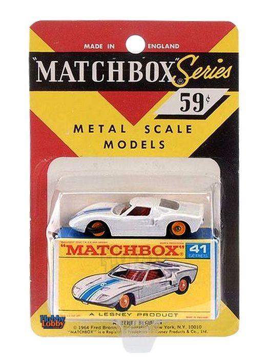 Matchbox - Coleção 1965 - Ford GT
