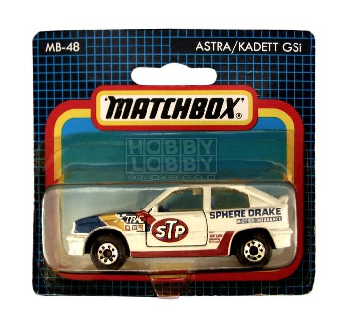 Matchbox - Coleção 1991 - Astra / Kadett GSi