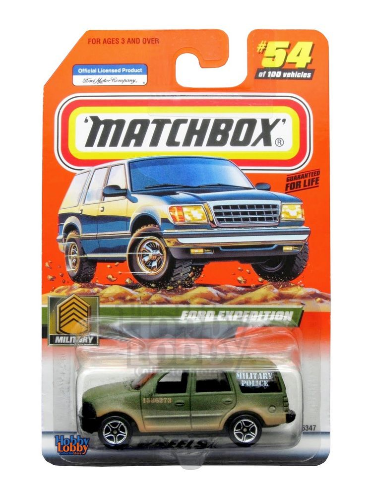 Matchbox - Coleção 2000 - Ford Expedition - Military Police