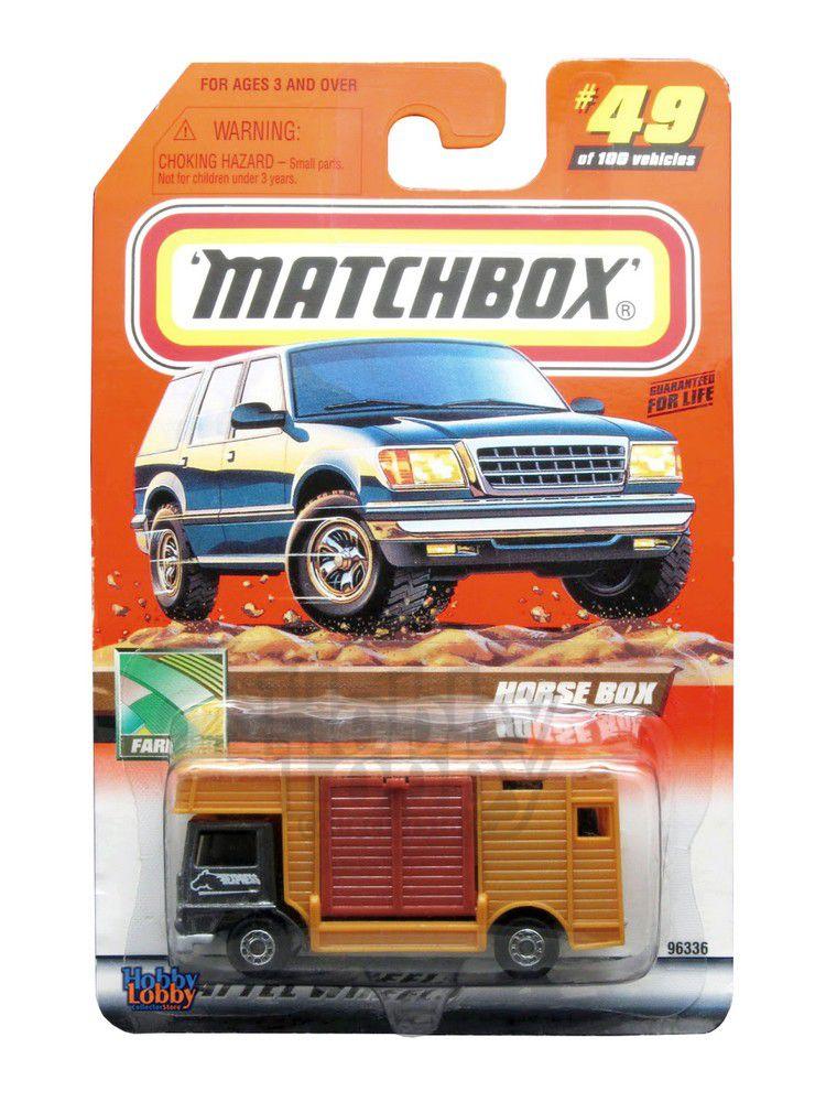 Matchbox - Coleção 2000 - Horse Box
