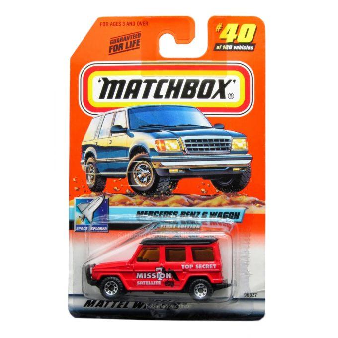 Matchbox - Coleção 2000 - Mercedes-Benz G Wagon