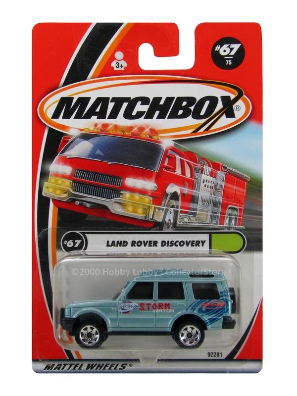 Matchbox - Coleção 2000 - Land Rover Discovery
