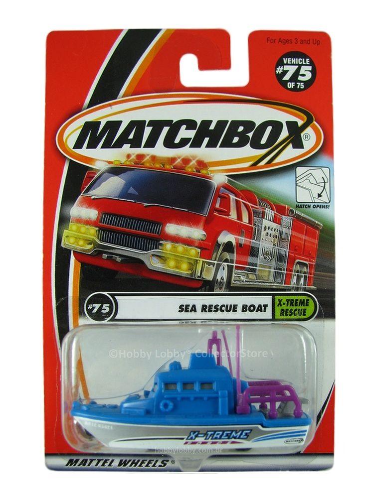 Matchbox - Coleção 2001 - Sea Rescue Patrol
