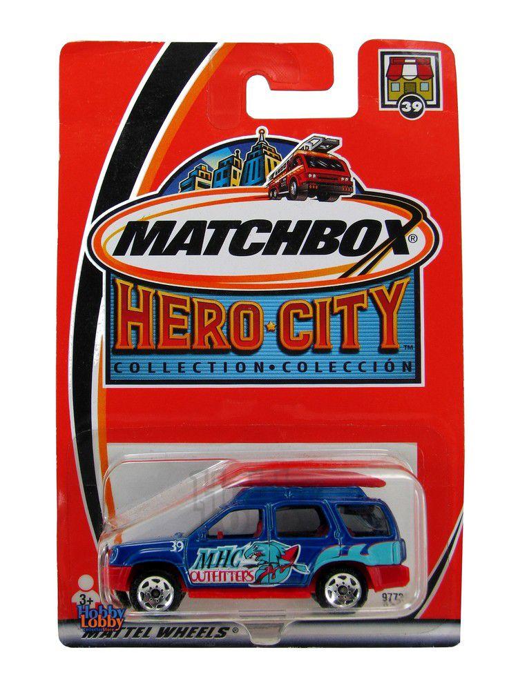 Matchbox - Coleção 2003 - Nissan X-Terra  - Hobby Lobby CollectorStore