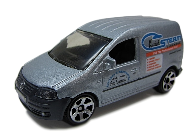 Matchbox - Coleção 2010 - Volkswagen Caddy - Quick Steam Cleaners