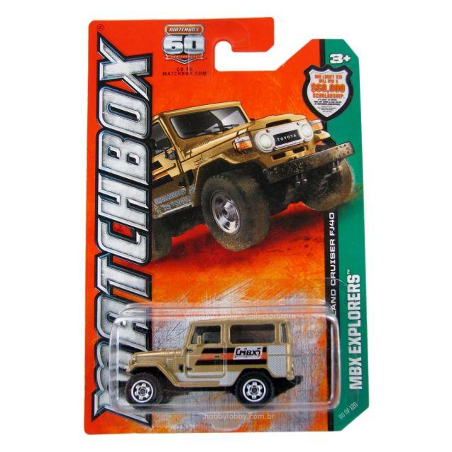Matchbox - Coleção 2013 - 1968 Toyota Land Cruiser