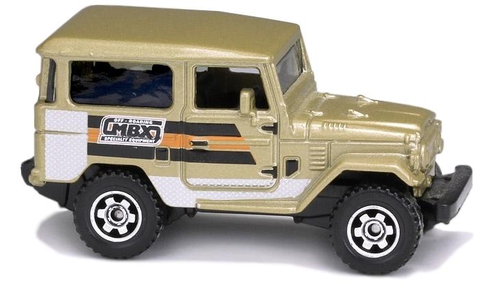 Matchbox - Coleção 2013 - 1968 Toyota Land Cruiser  - Hobby Lobby CollectorStore