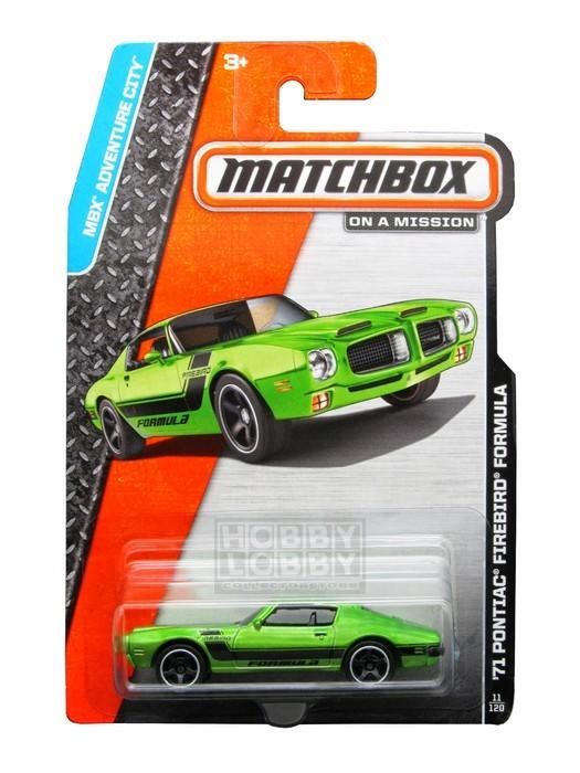 Matchbox - Coleção 2014 - 1971 Pontiac Firebird Formula