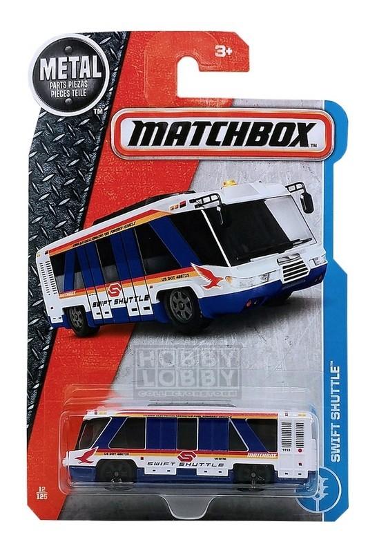Matchbox - Coleção 2017 - Swift Shuttle Bus
