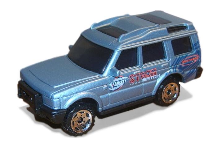 Matchbox - Coleção 2000 - Land Rover Discovery  - Hobby Lobby CollectorStore