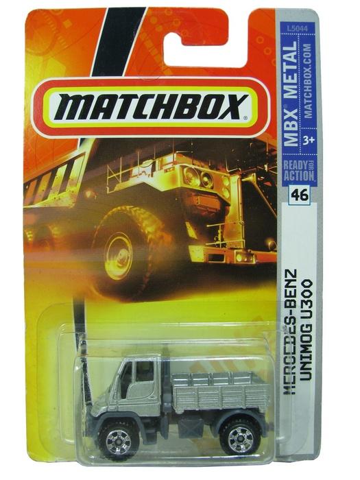 Matchbox - Coleção 2007 - Mercedes-Benz Unimog U300