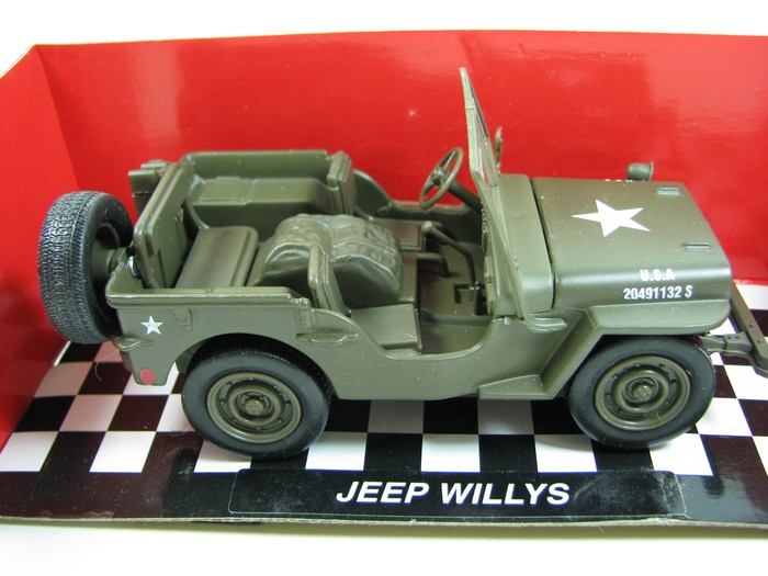 NewRay - Jeep Willys  - Hobby Lobby CollectorStore