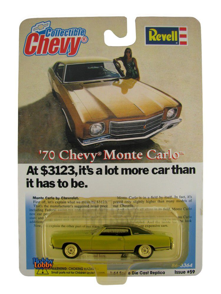 Revell - Collectible Chevy- ´70 Chevy Monte Carlo