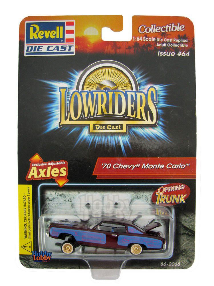 Revell - Lowrider Die Cast - ´70 Chevy Monte Carlo