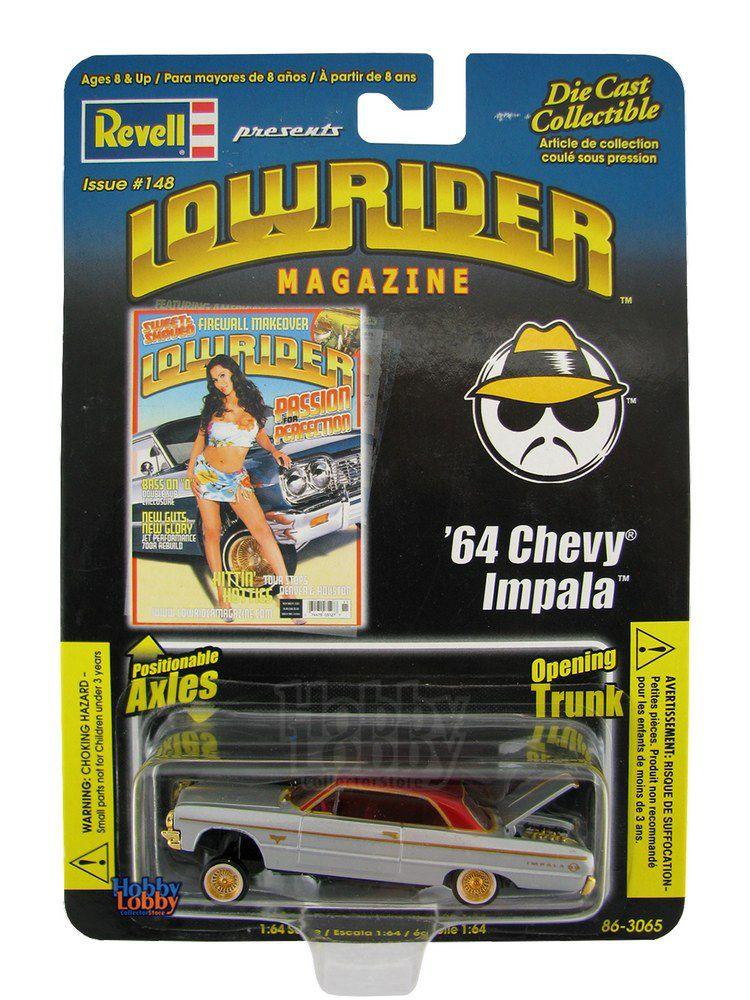 Revell - Lowrider Magazine - ´64 Chevy Impala  - Hobby Lobby CollectorStore