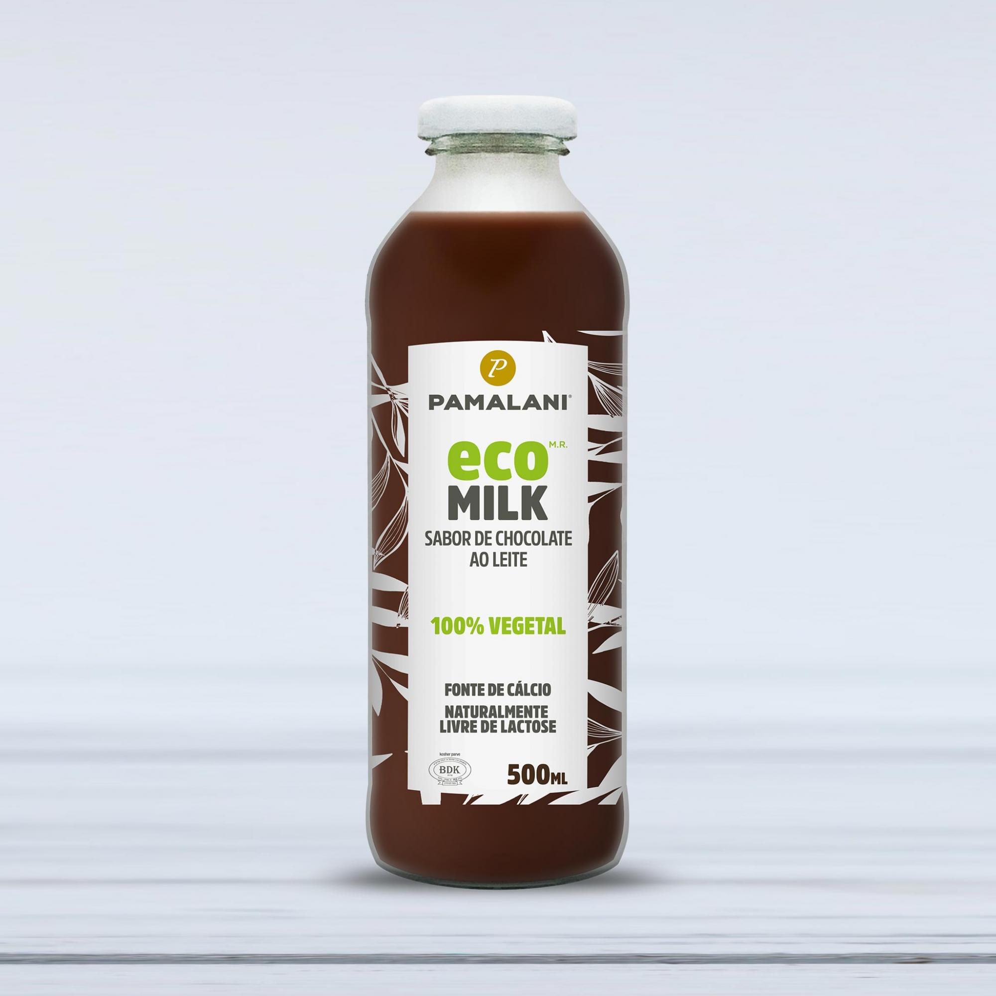 Eco Milk Sabor Chocolate ao Leite 100% vegetal 500ml