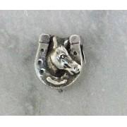 Pingente Cabeça de Cavalo Ferradura JOP6001