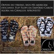 Sandália / Chinelo Cavalos
