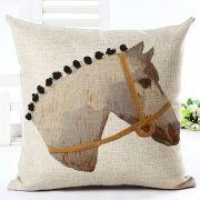 Capa de Almofada cavalo
