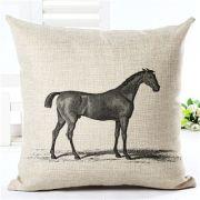 Capa para Almofada cavalo Ingles