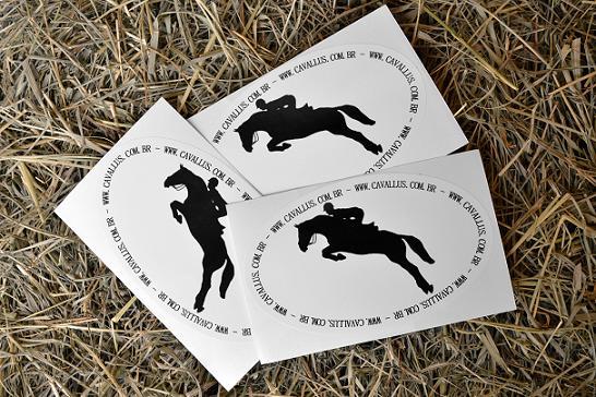 Adesivo Cavallus de Salto