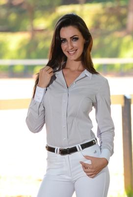 Camisa Feminina Mirella Manga Longa