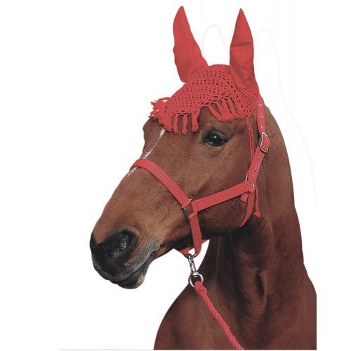 Touca de Crochet com Franja