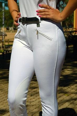Culote Dressur by Cavallus - Feminino 2 bolsos com zíper