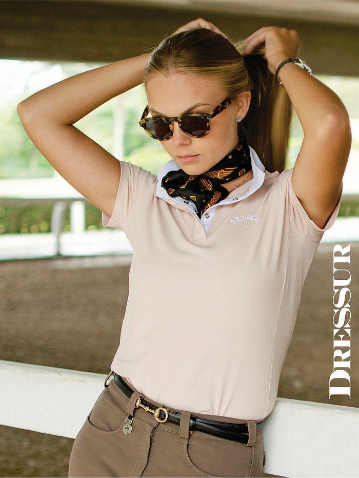 Camisa de Prova Feminina Dressur Tecnológica