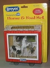 Breyer Stablemates Cavalo e Potro (Égua paint e potro)