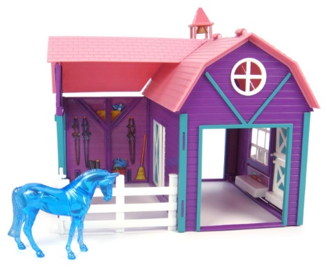 Breyer Kit Stablemates Cocheira Colorida