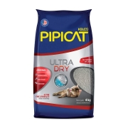 Areia Pipicat Ultra Dry para Gatos - 4,0 kg