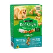 Biscoito Dog Chow Extra Life para Cães Filhotes Sabor Frango e Leite - 300 g