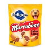 Biscoito Pedigree Biscrok Marrobone para Cães Adultos Sabor Carne