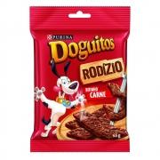 Petisco Doguitos Rodízio para Cães Adultos e Filhotes Sabor Carne - 65 g