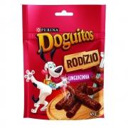 Petisco Doguitos Rodízio para Cães Adultos e Filhotes Sabor Linguicinha - 45 g