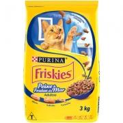 Ração Friskies Peixe e Frutos Do Mar 3 kg - Nestlé Purina