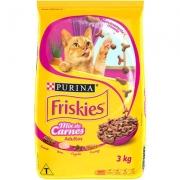 Ração Friskies Seleção Saborosa para Gatos Adultos Sabor Mix de Carnes