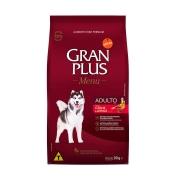 Ração GranPlus Menu Para Cães Adultos de Porte Médio e Grande Sabor Carne e Arroz