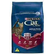 Ração Nestlé Purina Cat Chow para Gatos Adultos sabor Carne