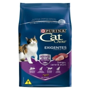 Ração Nestlé Purina Cat Chow para Gatos Exigentes sabor Frango, Carne e Atum 1 kg
