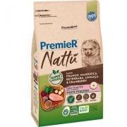 Ração Premier Nattu para Cães Filhotes de Raças Pequenas Sabor Mandioca