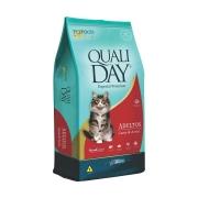 Ração Qualiday para Gatos Adultos Sabor Carne