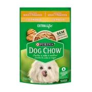 Ração Úmida Dog Chow Sabor Frango para Cães Adultos de Raças Pequenas - 100 g