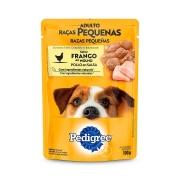 Ração Úmida Pedigree Sachê Frango ao Molho para Cães Adultos de Raças Pequenas - 100 g