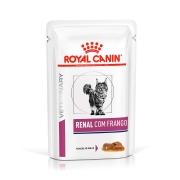 Ração Úmida Royal Canin Sachê Veterinary Renal - Gatos Adultos - 85 g