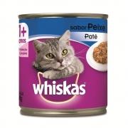 Ração Úmida Whiskas Lata para Gatos Adultos Sabor Peixe - 290 g