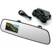 Retrovisor Camera Filmadora Espia Veicular hd Dvr Full Monitor display (L-3000)