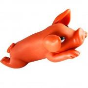 Brinquedo Mordedor Cachorro Porquinho Apito Diversao Cao Bicho de Estimacao Pet  (PET-123)